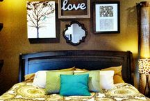Bedroom ideas / by Melana Higdon