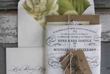 Wedding Ideas: Stationery / A selection  of the prettiest and most innovative wedding stationery we have come across. / by Lavender & Linen