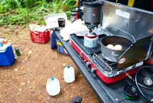Camping IDEAS / Camping RV Camper Trailer Outdoors Glamor + Camping Tent Camp Glamping Campfire Campfire Cooking Camping Ideas / by Tammi Pinaholic