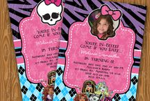 monster high birthday party / by michelle