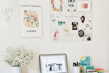 Workspace.  / by Emily Coban