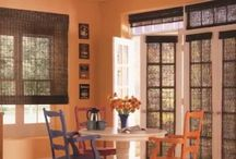 Toledo Woven Wood Blinds And Shades / Woven Wood Blinds are window treatments that add an exotic look to any home. Natural wood blinds that provide color and texture to any room. See this video to see what woven woods can do for your home. / by Window Treatments