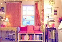 Apartment Organization / by Stephanie Davis
