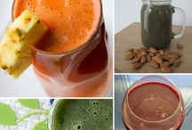 Juicing recipes / by Patsy Hastings