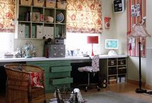 art/craft studios / by Lisa Hewitt