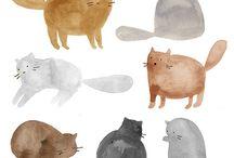 illustration / by Katlyne Amyot
