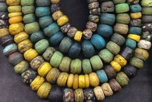 """Beads 'n Pendants / #Beads and #pendants for jewelry work.  #glass #polymer #vintage #contemporary  **NOTE I do not pin """"new"""" coral **  / by Carolyn Sorensen"""