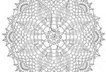 Crocheted D'Oylies / by Joellen Watkins