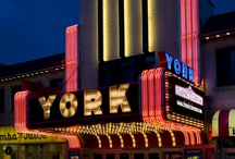 York Theatre / The Classic Cinemas York Theatre is located in downtown Elmhurst, IL  / by Classic Cinemas