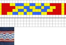 Tablet Weaving Patterns / by John Aguirre