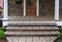 Stone Entryways / by Unique Concrete NJ