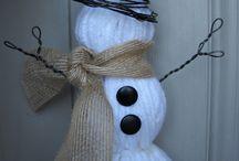 snowmen ideas for mom / by Julie Rash