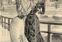 Edwardian. Fashion Plates. Infantil y femenino / by Elizabeth Montgomery