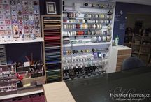 craft room ideas / by Irissa's Crafts