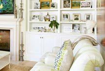 bookcase ideas / by Nicole Smit Marcinkiewicz