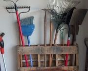 Garage storage / by Buffey Moore