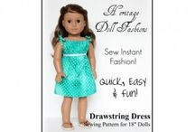 "18"" doll clothes / by Patti Salmon"