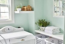 Home // Laundry Room / Pretty laundry rooms, organized laundry rooms, tranquil laundry rooms. / by Northern Belle Diaries