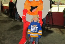 Peter Puck / The beloved mascot meets and greets fans at Hockey Day in Canada in Prince Edward Island. / by Hockey Night in Canada
