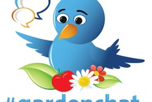 #gardenchat / Join in the conversation where the gardens grow on Twitter : #gardenchat. PINTEREST Board is where you will be able to connected with garden enthusiasts from all walks of life connect and interact sharing ideas about their experience growing using social media.  / by Bren