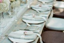Table settings / by Sarah Kotri