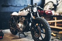 Cafe Racers / Cafe Racers &  Vintage Motorcycles / by AGVSPORT - AGV Sports Group Inc