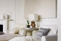 family room inspiration / by Christi @ Burlap and Basil