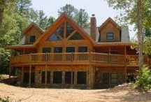 Dream Home and Log Cabin / by Kim Howington