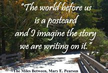 Book Quotes / Quotes from books / by Mary Pearson