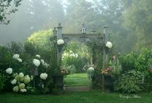 Arbors, gates, doors, windows & pathways to beyond... / by Cindy Rutherford