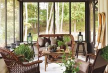 SUNROOMS, patios, & porches / by andi xxxx