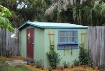 Make my shed pretty / by Peggy Oelkers