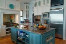 Kitchen islands / by Keli McCoy Mrotek