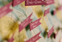 WEDDING DECOR / party favors, table cards, table names & numbers, escort cards etc. / by Colette Katsikas