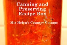 Canning/ Preserves / by Melody Woodard