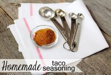 Recipes: Seasonings / by Tastes Better From Scratch