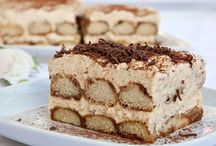 Tiramisu Recipe / Tiramisu it is made of ladyfingers (Italian: Savoiardi) dipped in coffee, layered with a whipped mixture of egg yolks and mascarpone cheese, and flavored with Marsala wine and cocoa. The recipe has been adapted into many varieties of puddings, cakes and other desserts.  Here put your varianates Tiramisu. Please only recipes, spam will be deleted. If you want to Participate write to pintafun@gmail.com 1) pinterest username or email 2) the name of the board. Invite your friends. Thank you! / by Pintafun Marcela Thinkarete