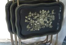 Vintage TV tables / by Lindsey Gerrish