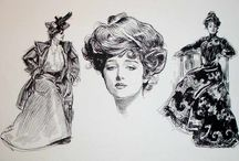 Gibson Girls / by Mary Mitchell