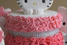 Hello Kitty / My lovely Hello Kitty :) / by Gillian Porteous