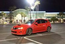 Subaru love / Subaru wrx sti hatchback impreza  / by Daine Scott