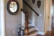 Floor and wall reno / by Trina Stewart