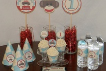 1st birthday themes / by Lisa Stamos