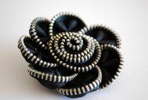 Zipper pins / by Priscilla Stultz
