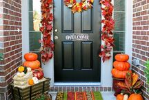 Fall decor / by Amanda Yeager