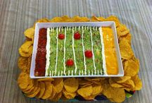 Football food / by Stephanie Adams