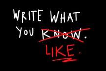 scribes / by Bonnie Gantz