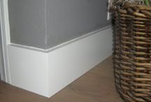 Baseboards. Moldings, and finishing ideas / by ekru