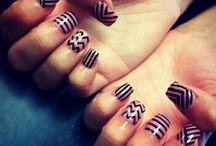 NAILed It! / How long does it take to get this kind of pattern on your nails?? / by Mary Vivio