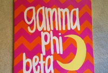 Gamma phi beta / by Anna Cain